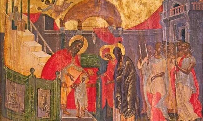 Τί ακριβώς βλέπουμε στην Εικόνα των «Εισοδίων της θεοτόκου»;