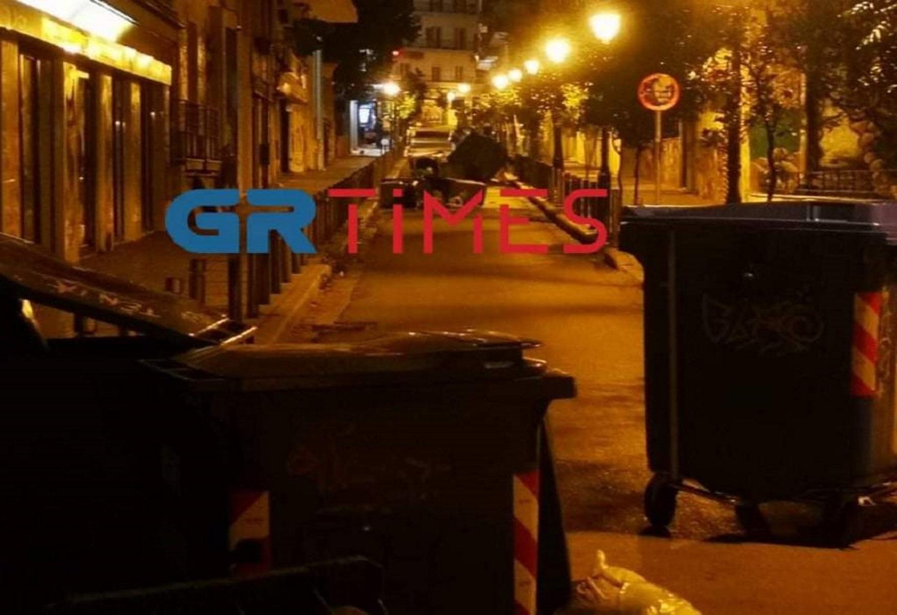 Θεσσαλονίκη: Πεδίο μάχης το κέντρο της πόλης σε συγκέντρωση κατά του lockdown – Προσαγωγές και τραυματισμοί