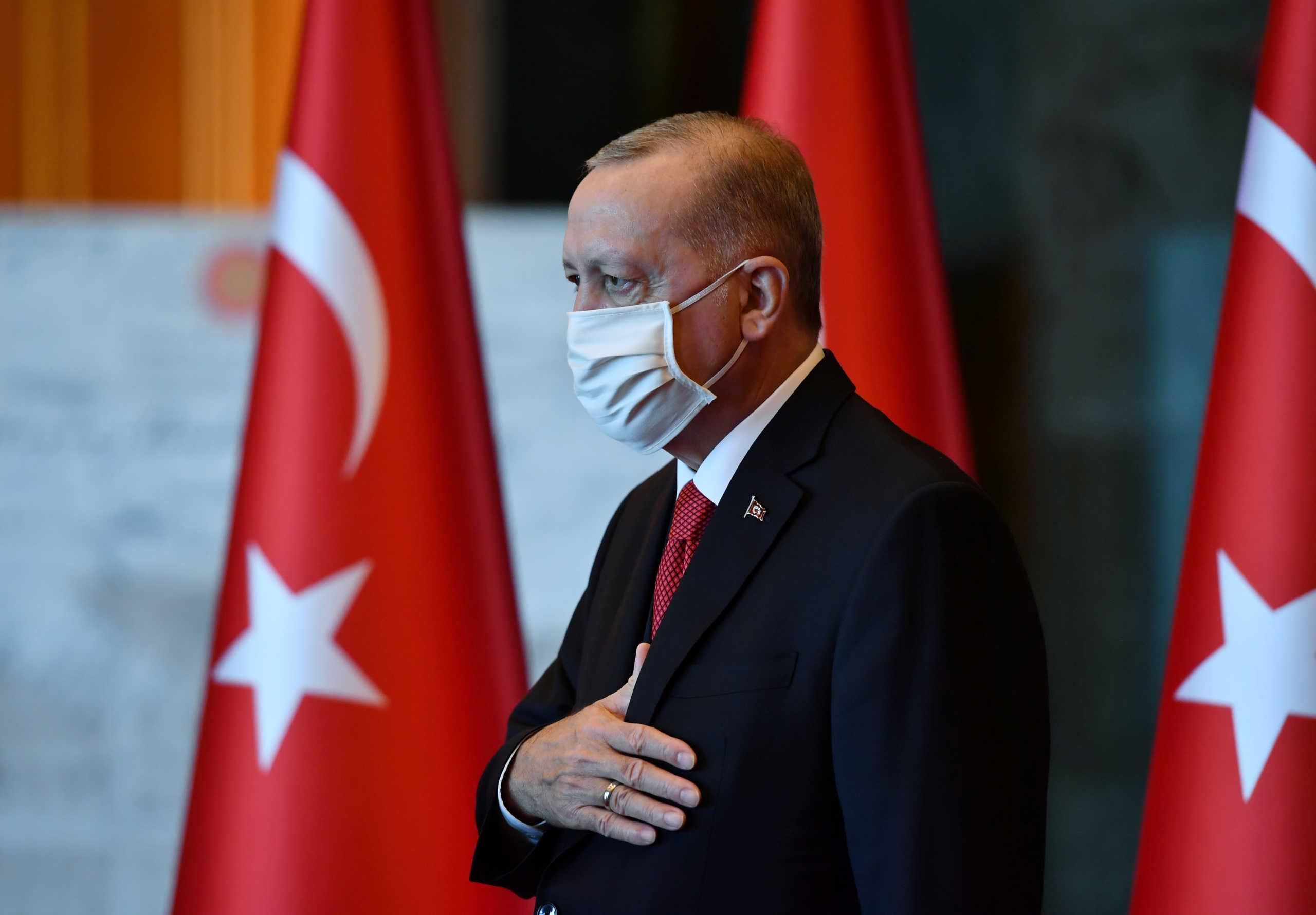 Στα Κατεχόμενα την Κυριακή ο Ερντογάν για τη φιέστα του ψευδοκράτους