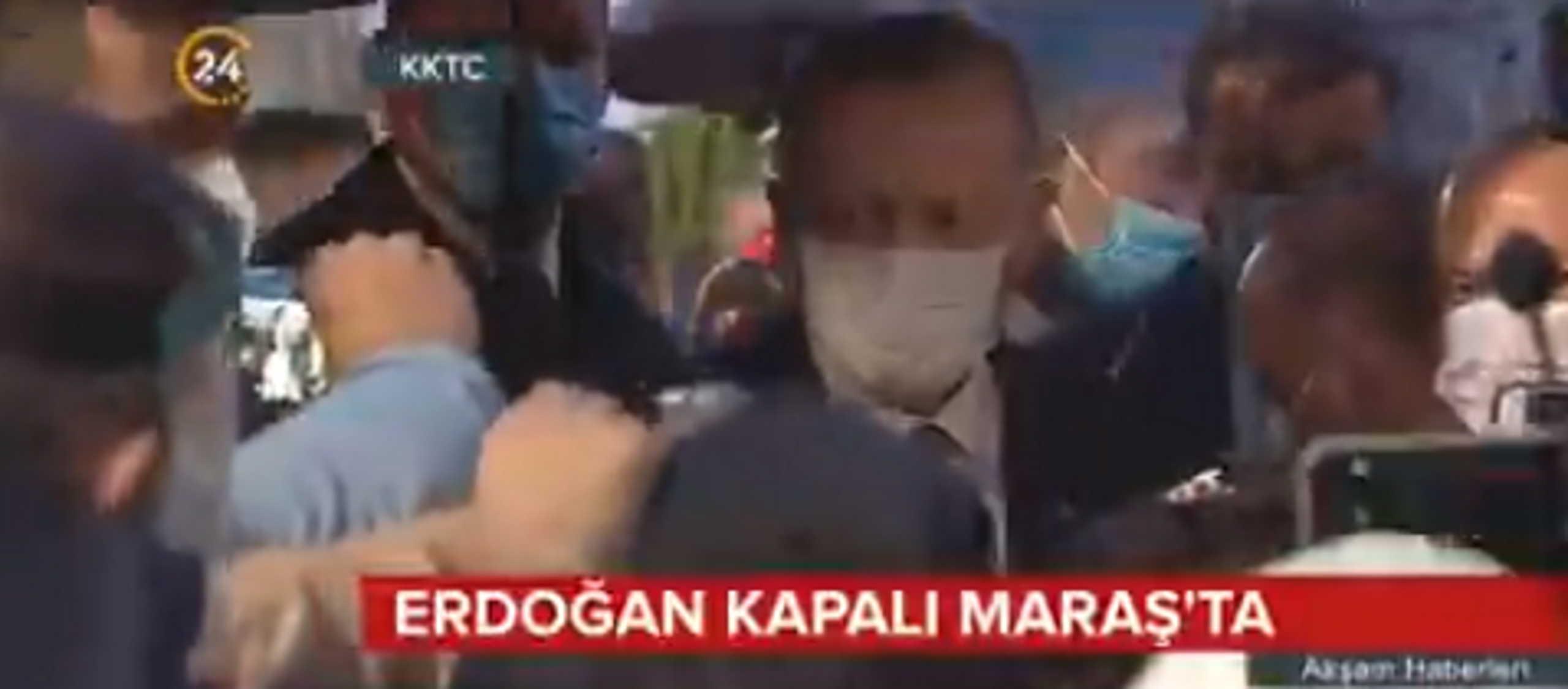Δεν τον θέλει ούτε ο καιρός! Με καταιγίδα η επίσκεψη Ερντογάν στα Βαρώσια (video)