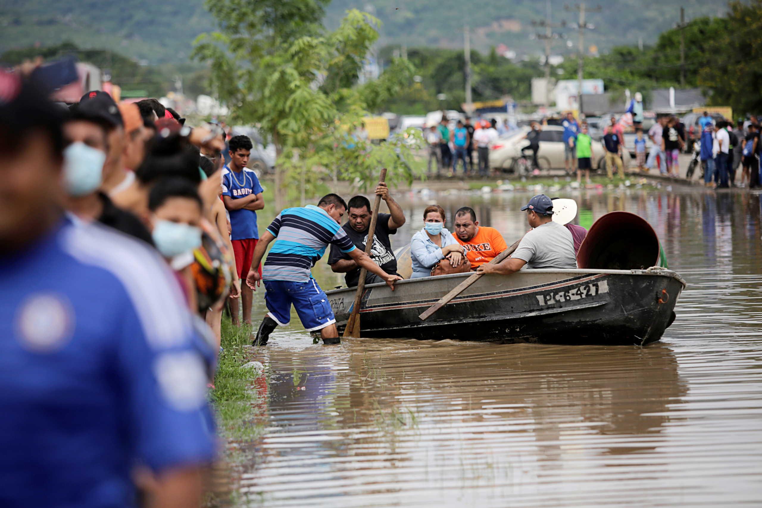 κεντρική Αμερική πλημμύρες
