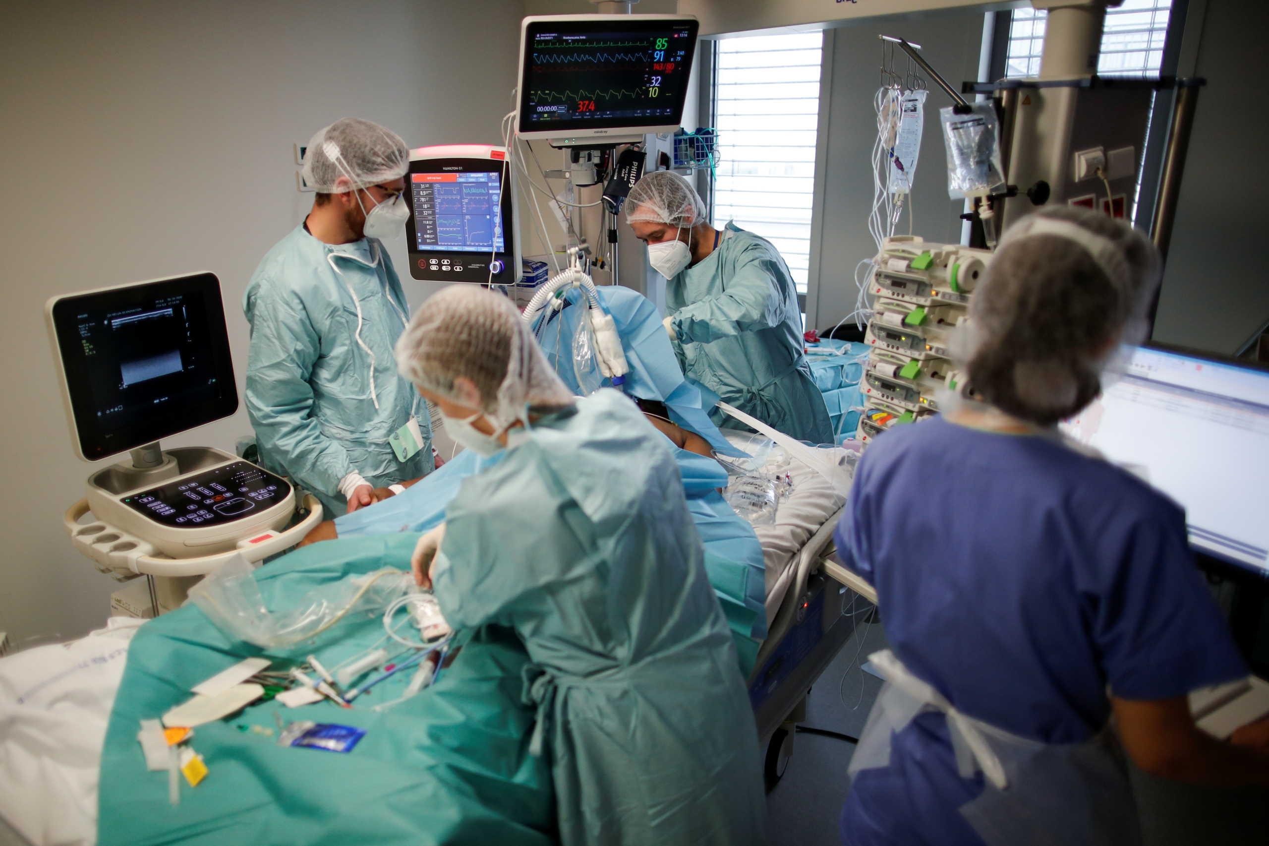 Γαλλία νοσοκομείο κορονοϊός