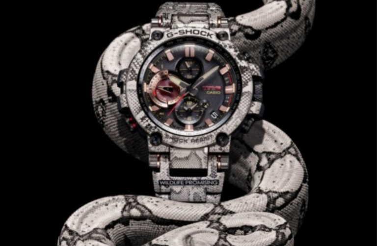Η G-SHOCK μόλις κυκλοφόρησε ένα ρολόι αφιερωμένο στον Αφρικανικό πύθωνα των βράχων