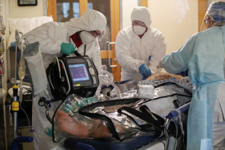 Ρεκόρ θανάτων από κορονοϊό στην Γερμανία – Στα όρια του το σύστημα υγείας
