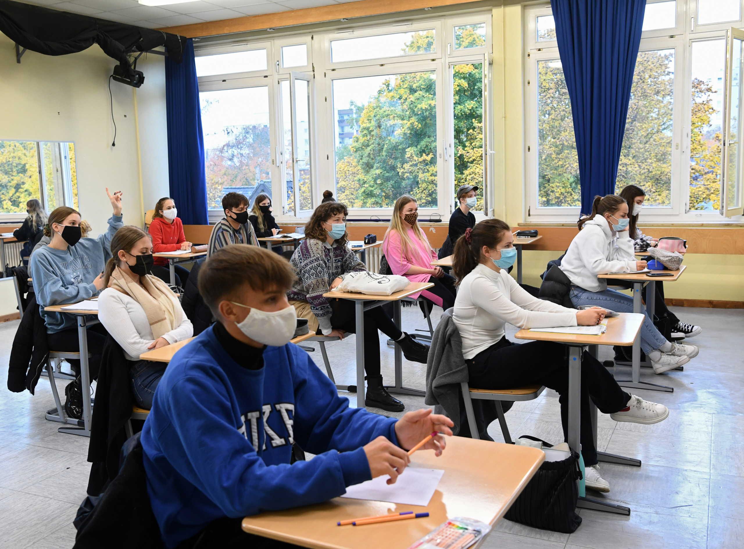 μαθητές Γερμανία κορονοϊός