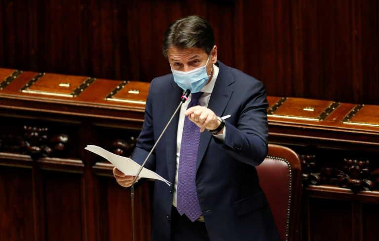 Ιταλία: Ο Τζουζέπε Κόντε πήρε ψήφο εμπιστοσύνης από τη Γερουσία