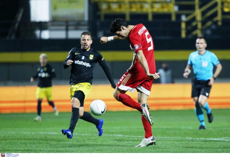 Αρης - Ολυμπιακός: Πρώτη φορά δύο γκολ ο Μπουχαλάκης στη Superleague! Το είχε ξανακάνει στην Αγγλία (videos)