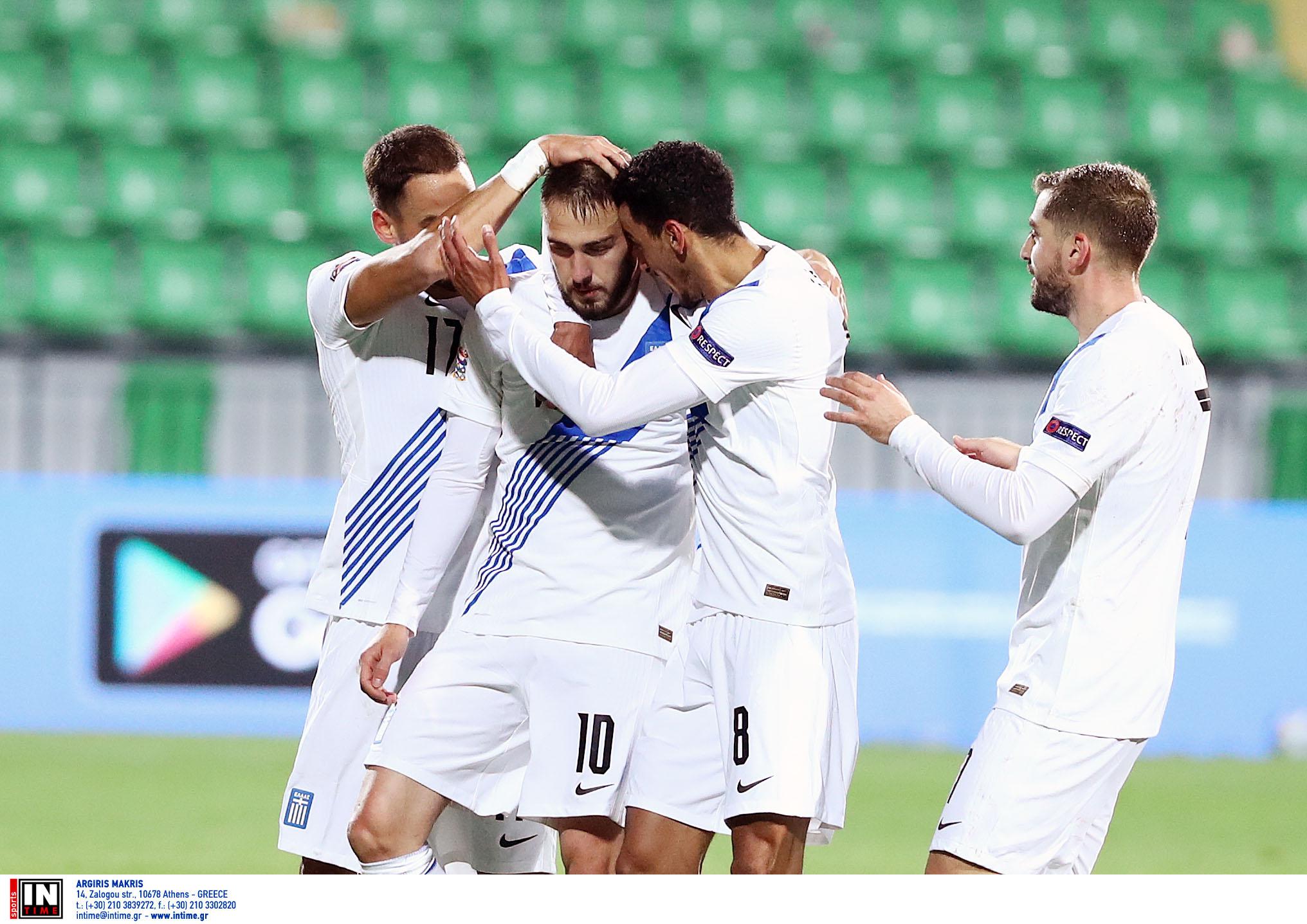"""Μολδαβία – Ελλάδα: Έκανε το… εθνικό της καθήκον με σούπερ Φορτούνη! Ακολουθεί """"τελικός"""" με Σλοβενία (video)"""