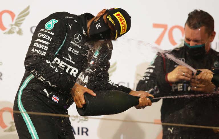 Formula 1: Νικητής ο Χάμιλτον στο επεισοδιακό Grand Prix του Μπαχρέιν