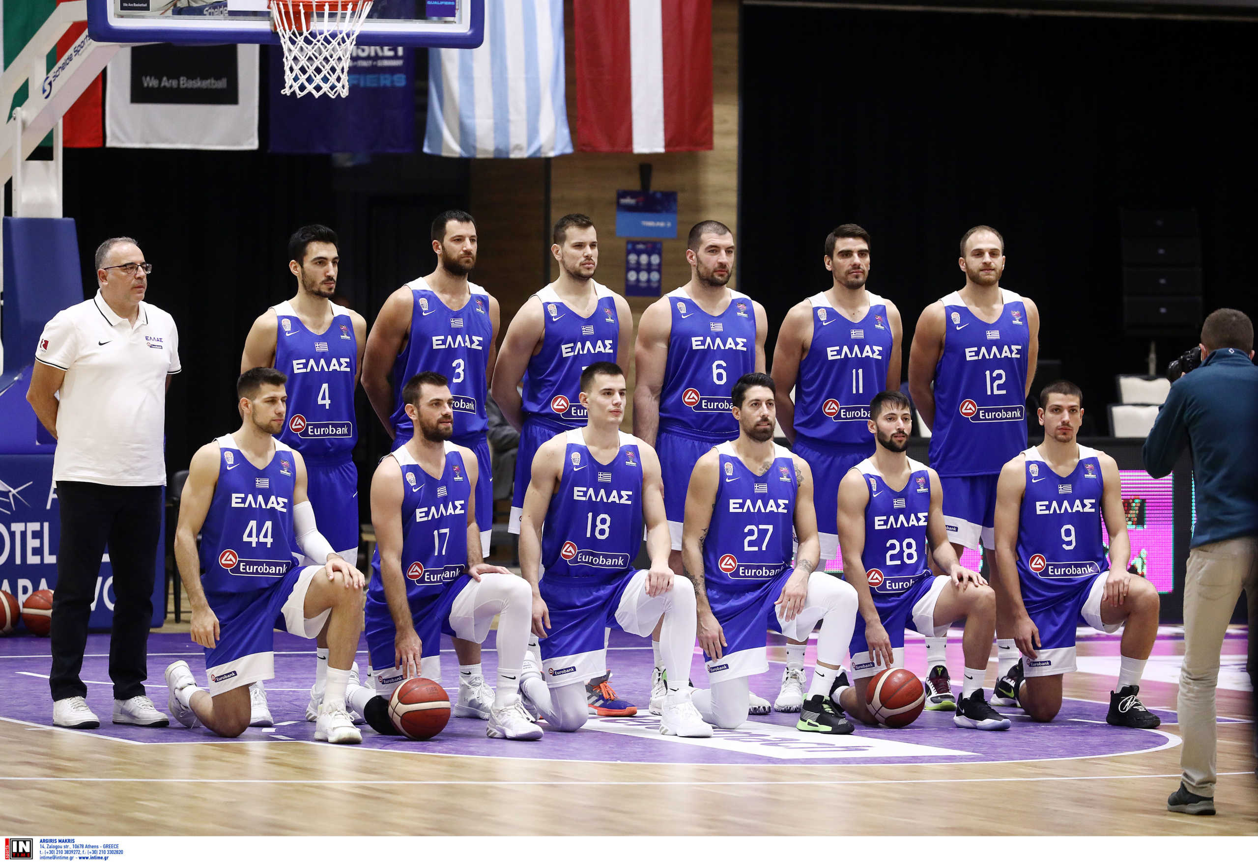 Eurobasket 2022: Στο πρώτο γκρουπ δυναμικότητας η Ελλάδα (pic)
