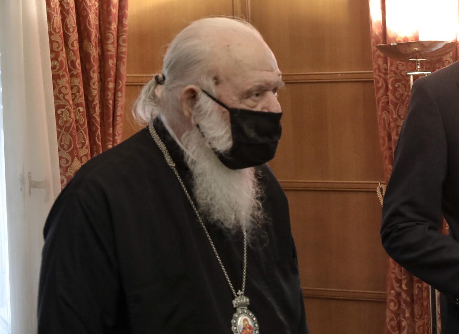 """""""Ο Αρχιεπίσκοπος παίρνει ίδια φάρμακα με όλους τους ασθενείς με κορονοϊό"""" – Η απάντηση στις φήμες για θεραπεία… αλά Τράμπ"""