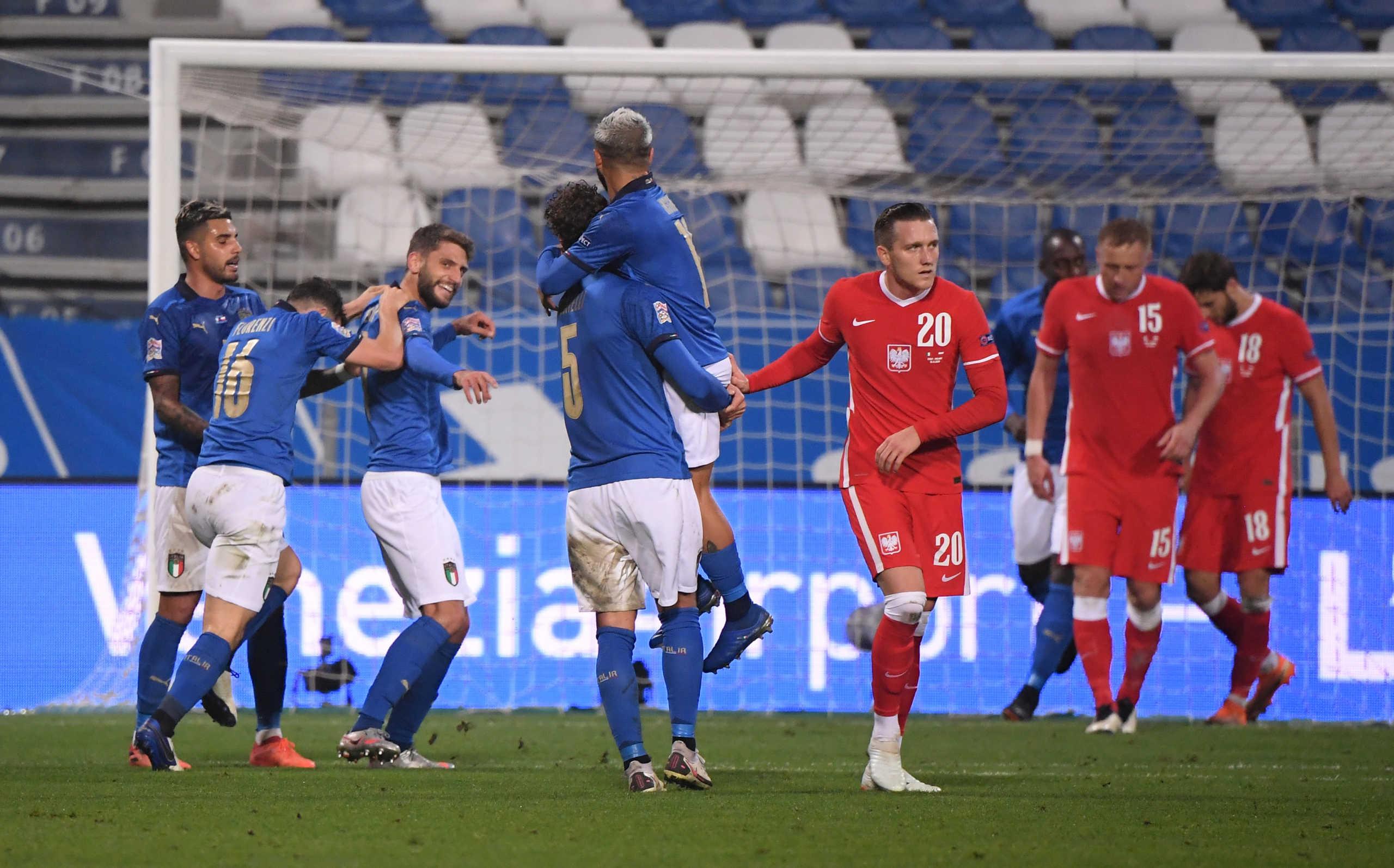 """Nations League: Πρωτιά για την Ιταλία! """"Καθάρισε"""" την Αγγλία το Βέλγιο – Όλα τα αποτελέσματα (videos)"""