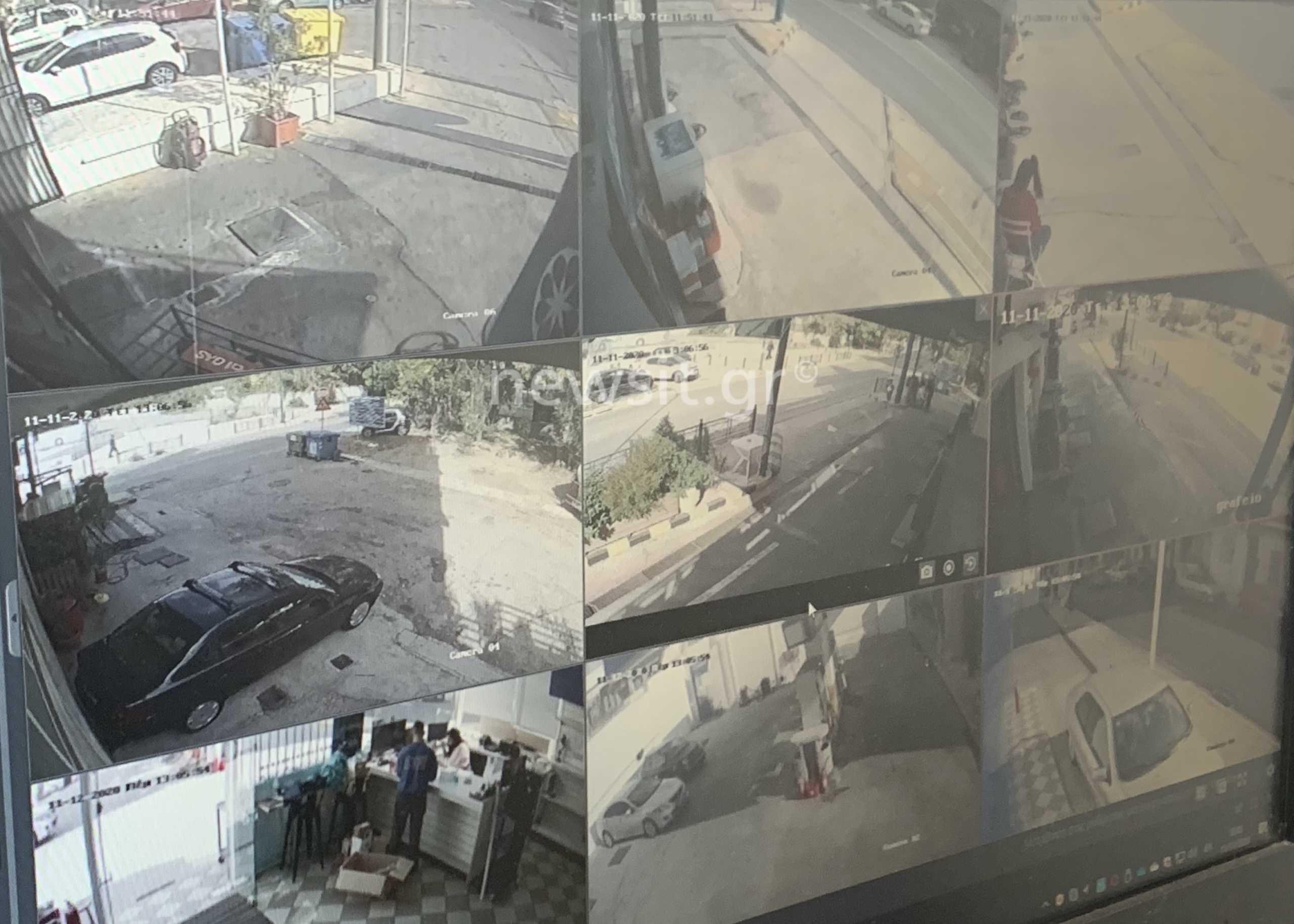 Αγία Βαρβάρα: Έτσι «έπιασαν» οι κάμερες το φευγιό των ανήλικων δολοφόνων της 50χρονης