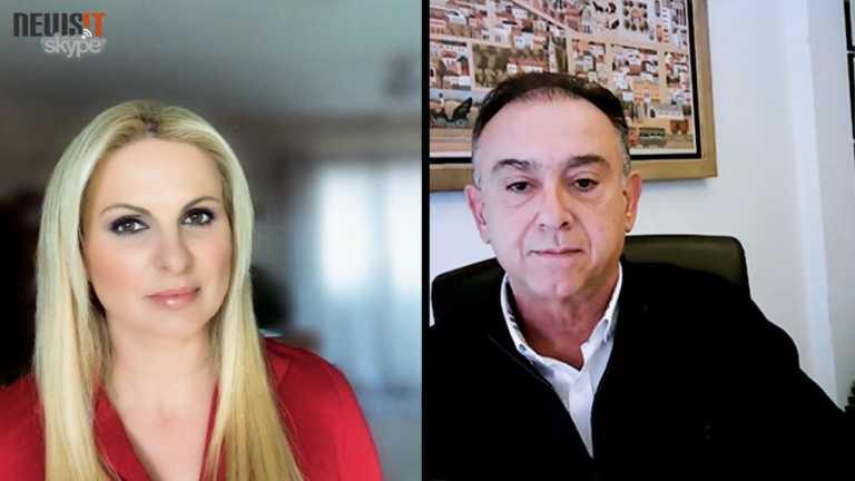 Χρήστος Κέλλας: Το τηλεφώνημα στον πρωθυπουργό και η νέα μάχη με τον κορονοϊό