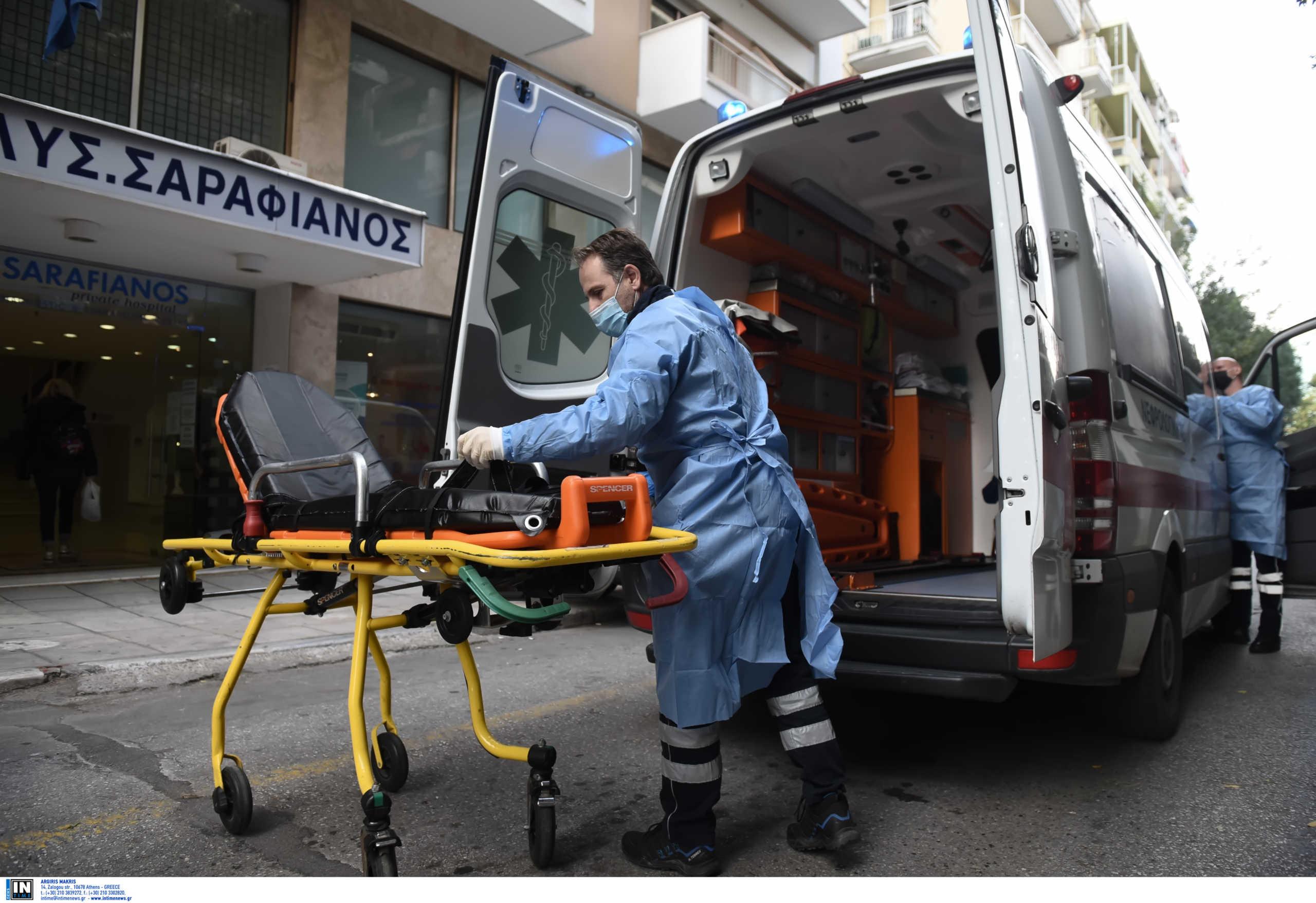 Θεσσαλονίκη: Άρχισαν οι διακομιδές ασθενών από τις κλινικές που έχουν επιταχθεί