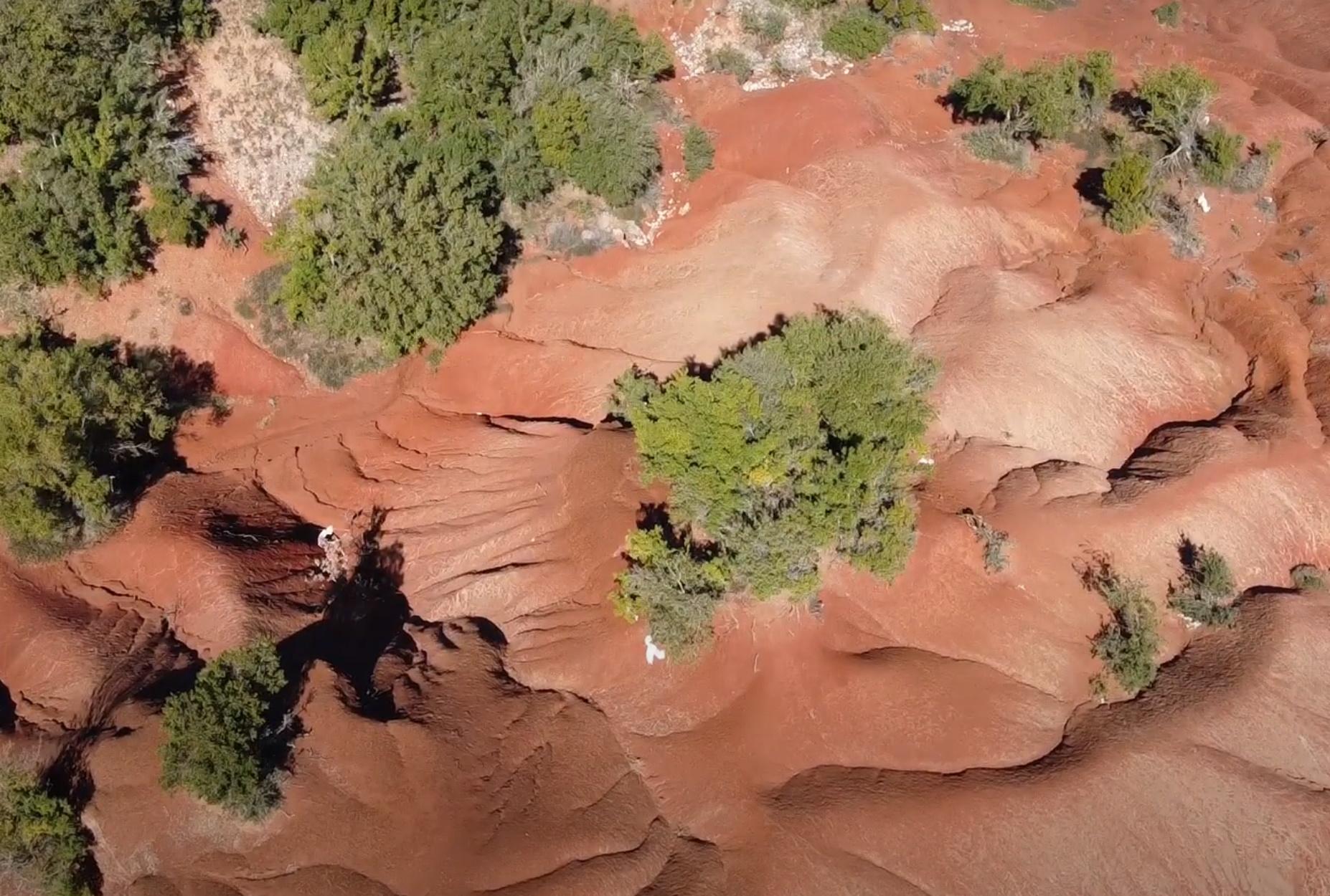 Το απόκοσμο κόκκινο τοπίο… του Άρη που βρίσκεται στην Ελλάδα