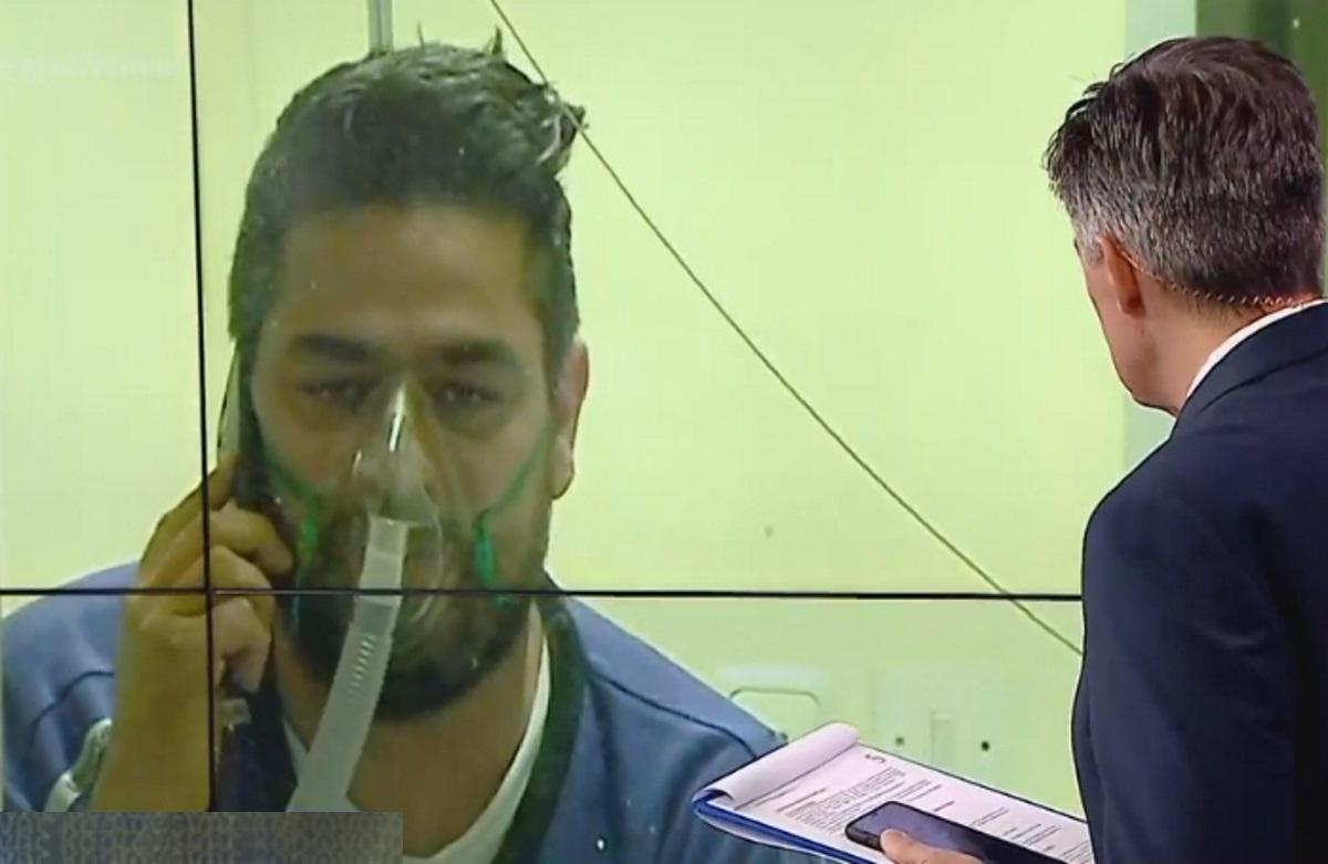 Κορονοϊός: Συγκίνησε ο 42χρονος που μίλησε με το οξυγόνο από το ΑΧΕΠΑ