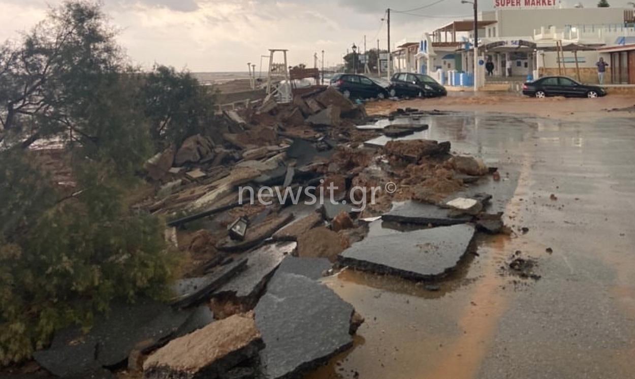 Κρήτη πλημμύρες