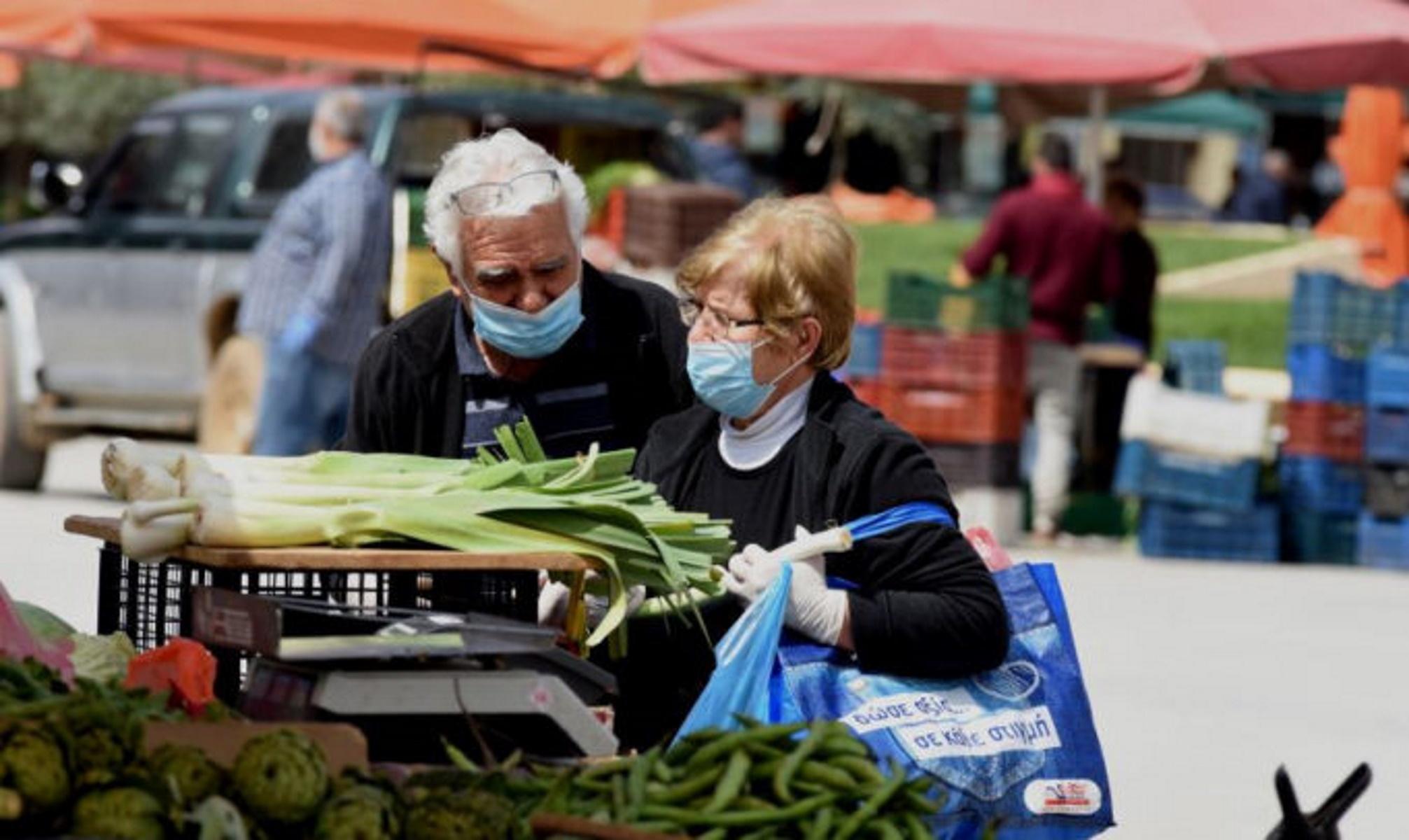 Κεντρική Μακεδονία - κορονοϊός: 50.000 ιατρικές μάσκες στις λαϊκές αγορές