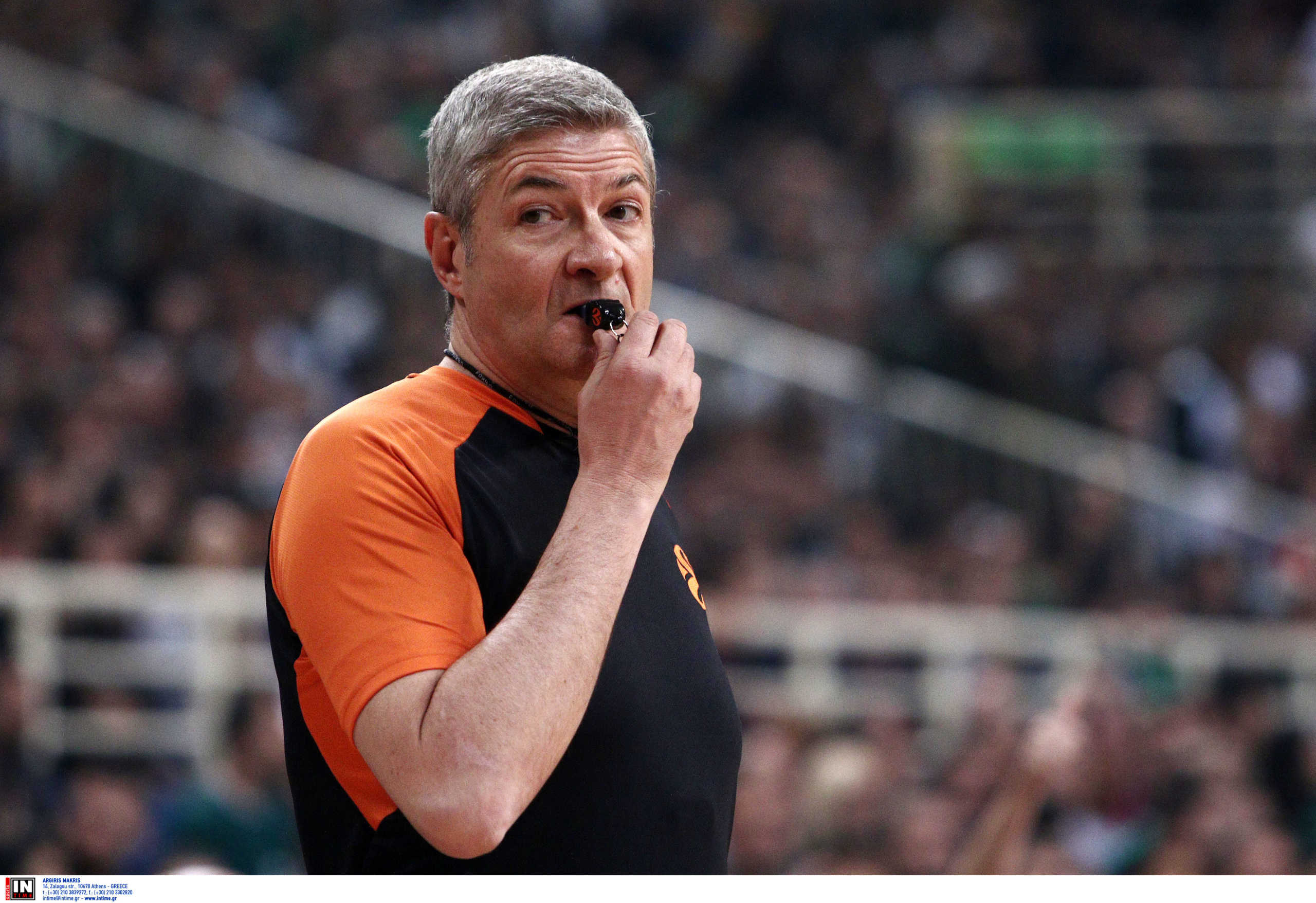 Euroleague: Αυτοί σφυρίζουν Παναθηναϊκό κι Ολυμπιακό