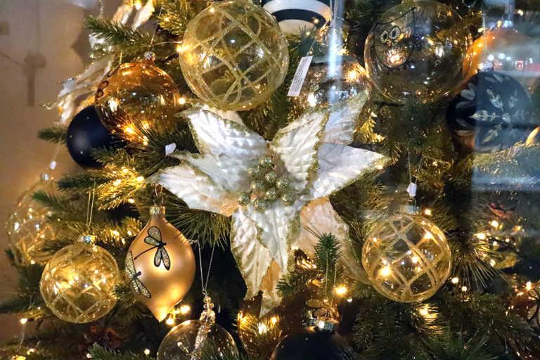 Λάρισα: Παραμυθένιες χριστουγεννιάτικες βιτρίνες στα κλειστά καταστήματα της πόλης (Φωτό)