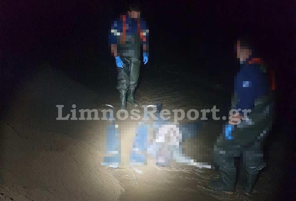 Θρίλερ με πτώμα άνδρα σε παραλία της Λήμνου (pics)