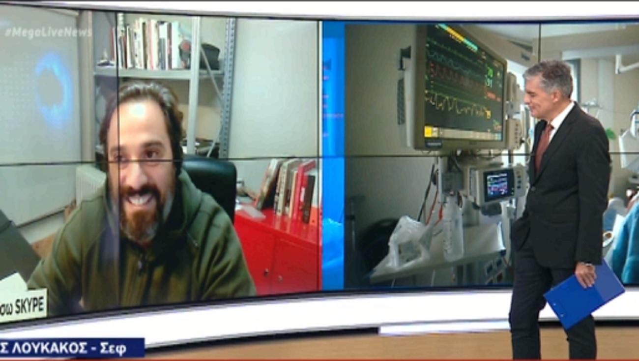 """Ο Γιάννης Λουκάκος στο Live News: """"Δεν υπάρχει νόημα να ανοίξουμε για μια, δυο, τρεις εβδομάδες"""""""