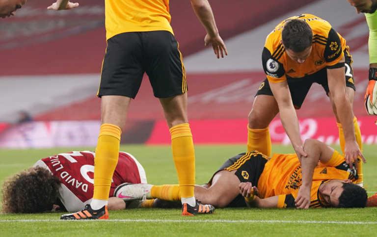 Premier League: Ανατριχιαστικός τραυματισμός για Νταβίντ Λουίζ και Ραούλ Χιμένες (video)