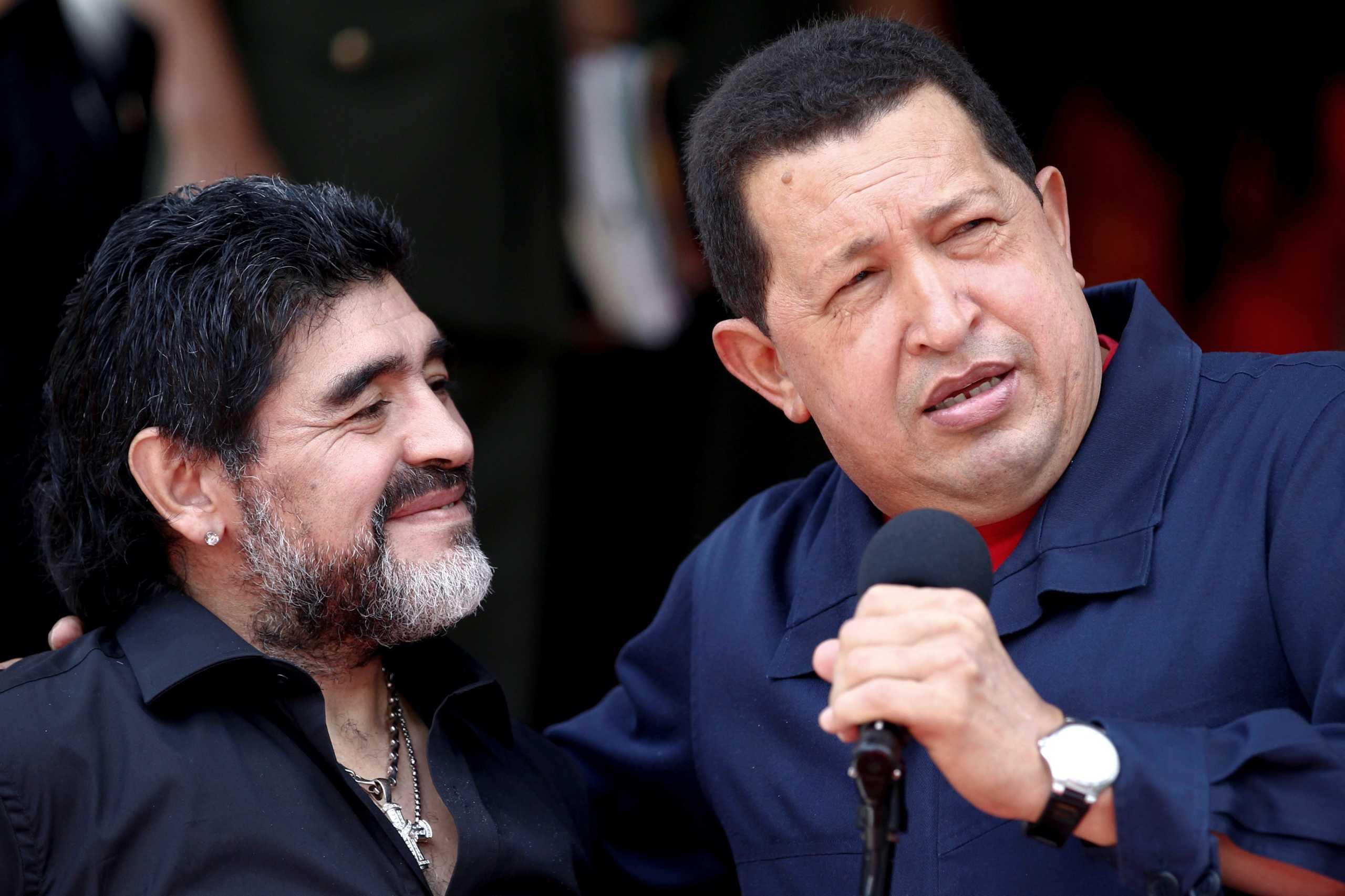 """Ντιέγκο Μαραντόνα: Ο """"κολλητός"""" Φιντέλ Κάστρο, το """"φαινόμενο"""" Πούτιν και το """"καρτούν"""" Τραμπ"""