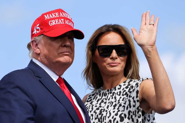 Σε… άλλο κόσμο η Μελάνια Τραμπ – Διοργανώνει πάρτι στον Λευκό Οίκο εν μέσω πανδημίας