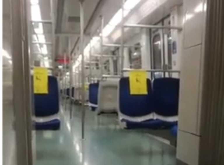Πρωτόγνωρες εικόνες στο Μετρό
