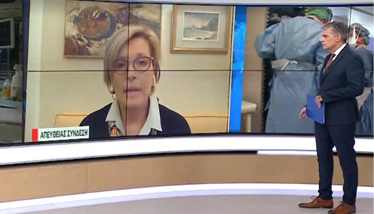 Γκάγκα στο Live News: Άνθρωποι κόλλησαν κορονοϊό το Σαββατοκύριακο