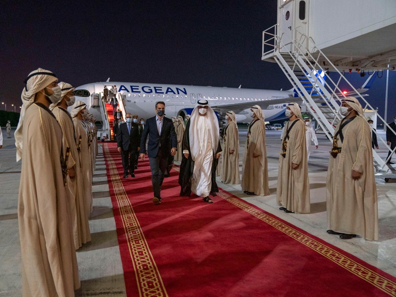 Ηνωμένα Αραβικά Εμιράτα ο Μητσοτάκης