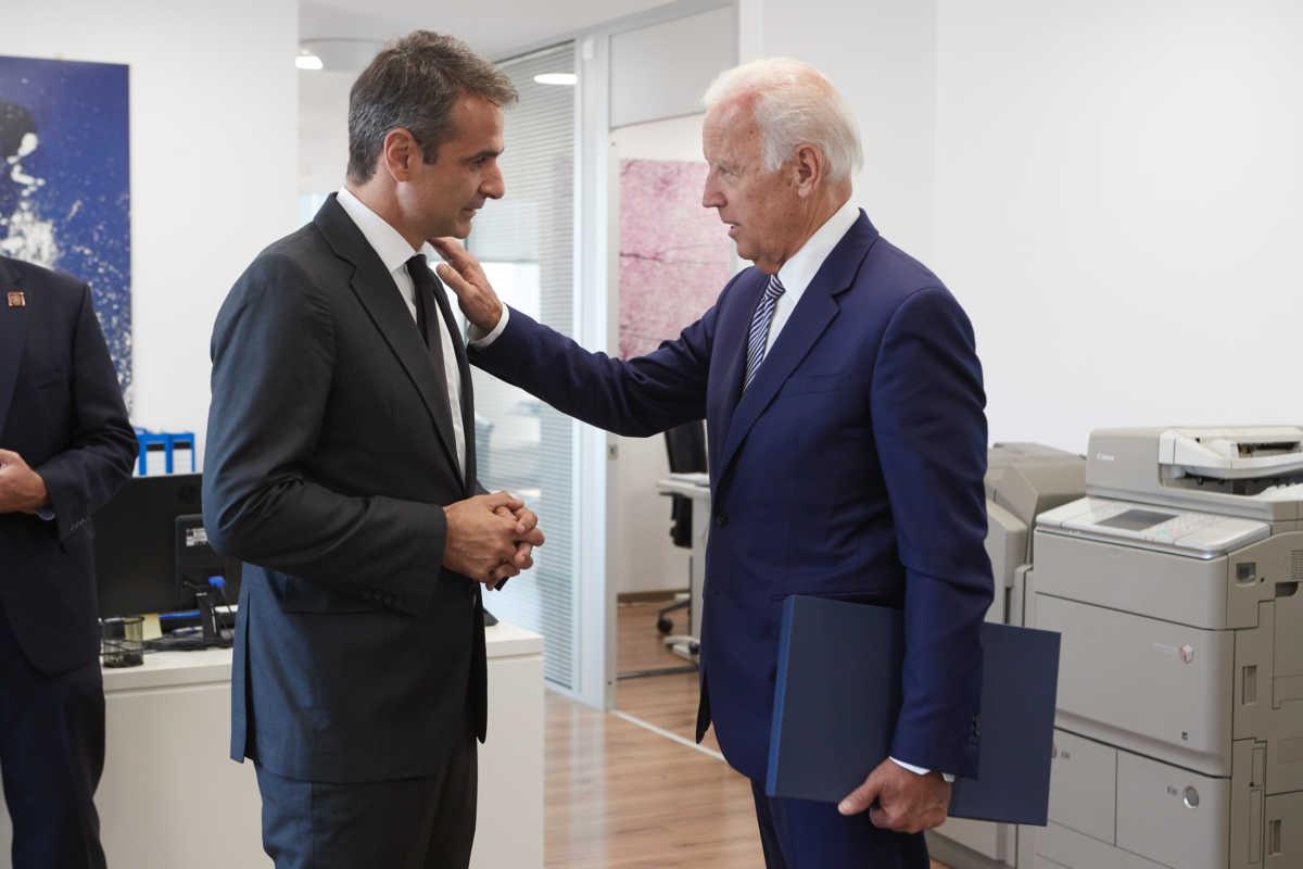 Όταν ο Μητσοτάκης συνάντησε τον Τζο Μπάιντεν – Η ιδιαίτερη στιγμή (pics)