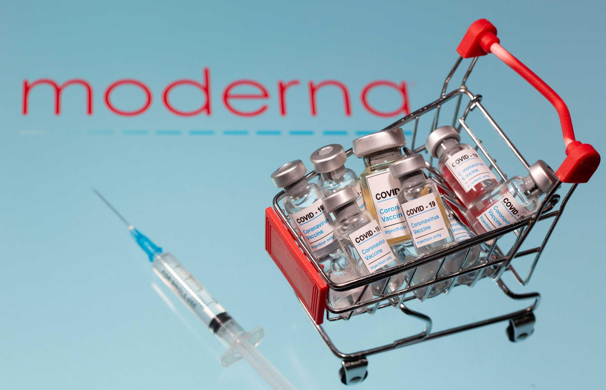 Η Ευρωπαϊκή Ένωση αγοράζει επιπλέον εμβόλια και από τη Moderna