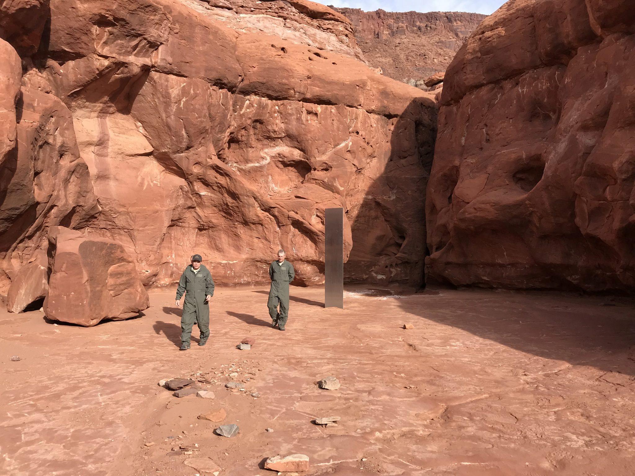 Τέλος στο μυστήριο της «εξαφάνισης» του μονόλιθου στην Γιούτα (pics)