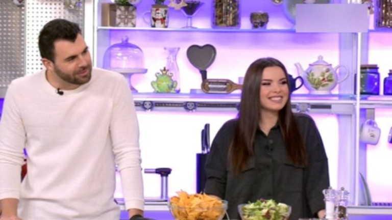 Ο Δημήτρης Μπέλλος και η Μαρία Μπέη επέστρεψαν στο Happy Day μετά την περιπέτεια με τον κορονοϊό