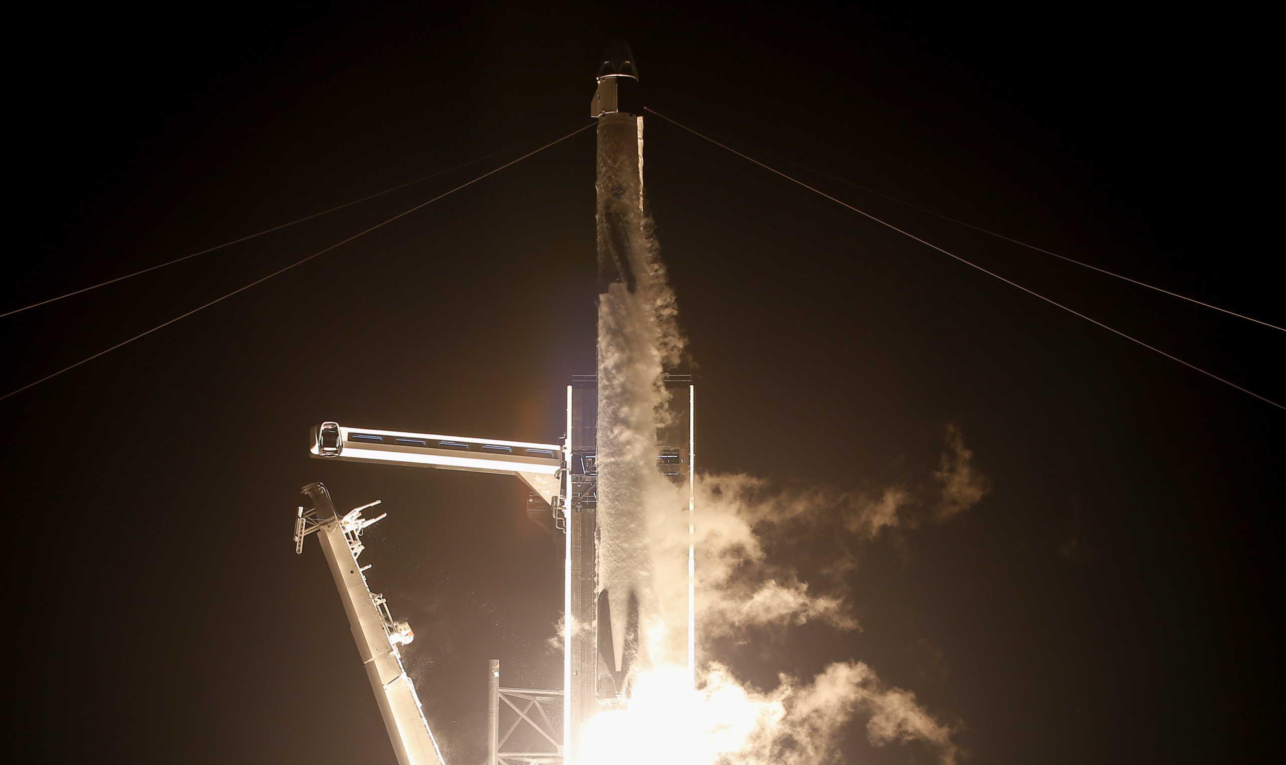 """Έφτασε στον Διεθνή Διαστημικό Σταθμό το """"Resilience"""""""
