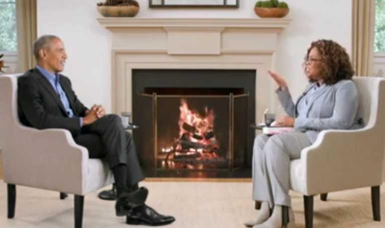 Μια συνέντευξη «θαύμα»! Όπρα και Ομπάμα κάθονταν δίπλα δίπλα αλλά χιλιάδες μίλια μακριά