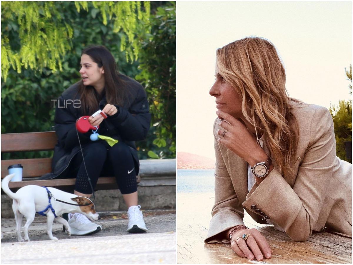 Στην Ελλάδα η κόρη της Τζένης Μπαλατσινού λίγο πριν γεννήσει η μητέρα της! – φωτογραφίες