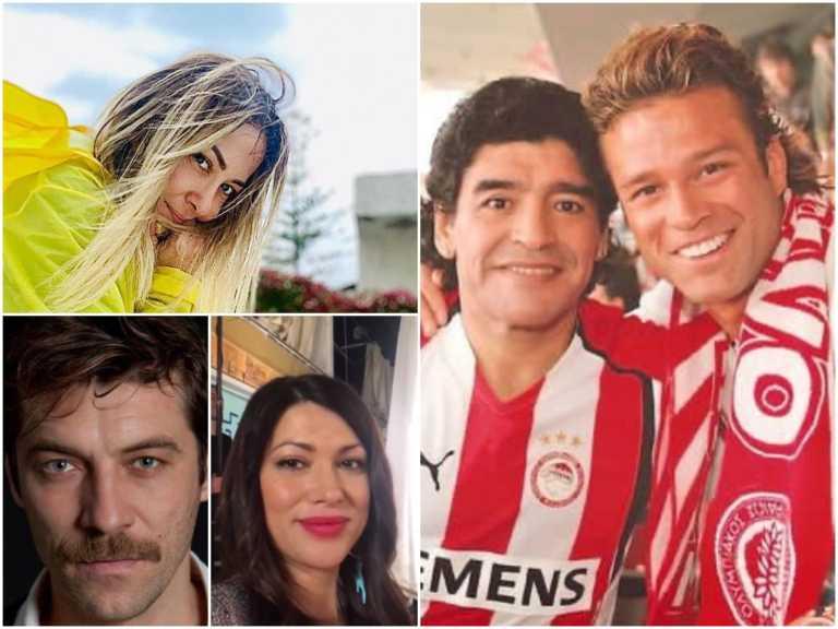 Ντιέγκο Μαραντόνα: Η ελληνική showbiz  αποχαιρέτησε τον θρύλο του ποδοσφαίρου