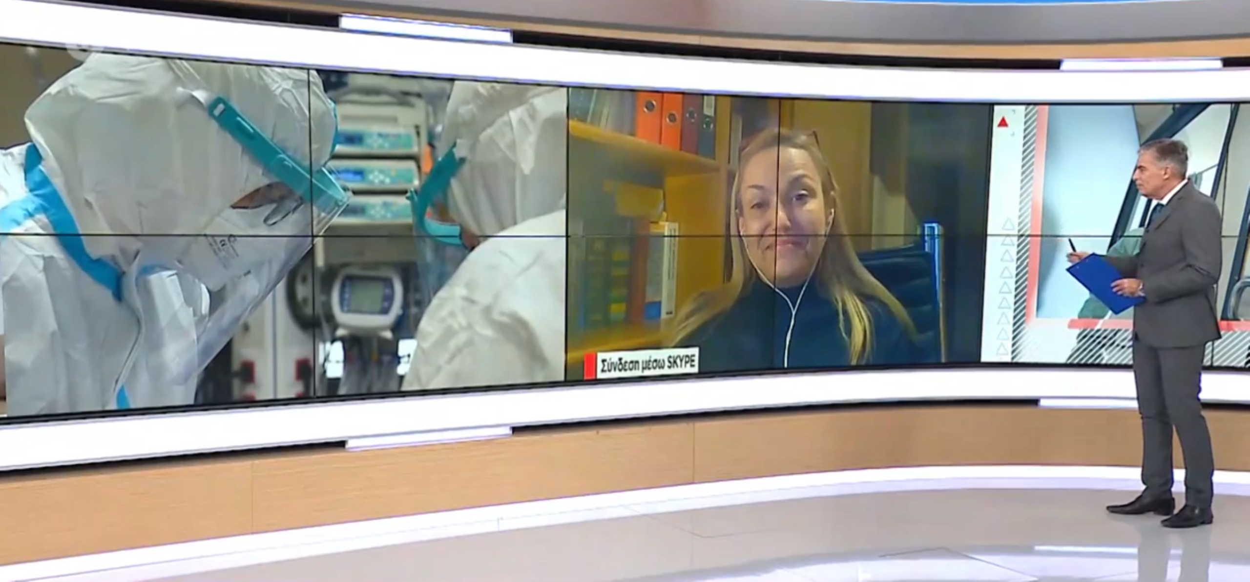 """Πνευμονολόγος του """"Παπανικολάου"""": Να μην χαλαρώσουν οι πολίτες (video)"""
