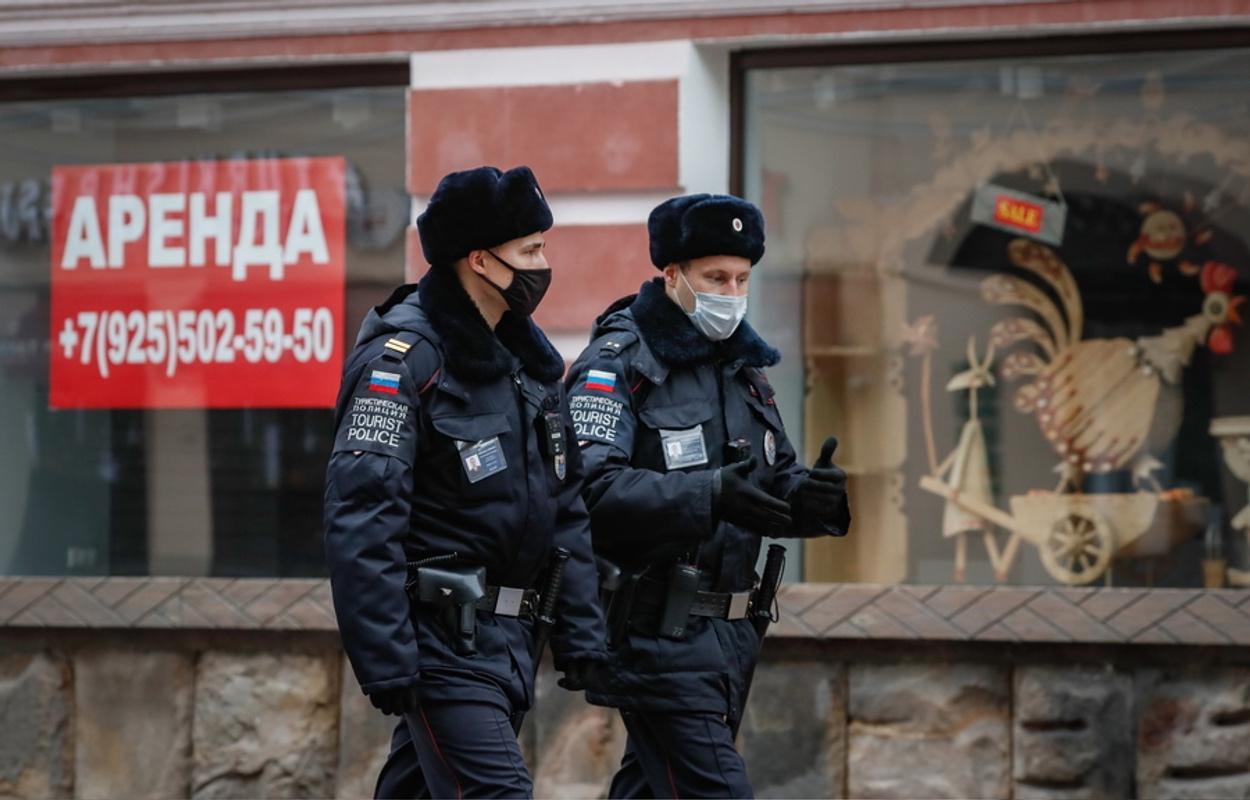 αστυνομία Αγία Πετρούπολη