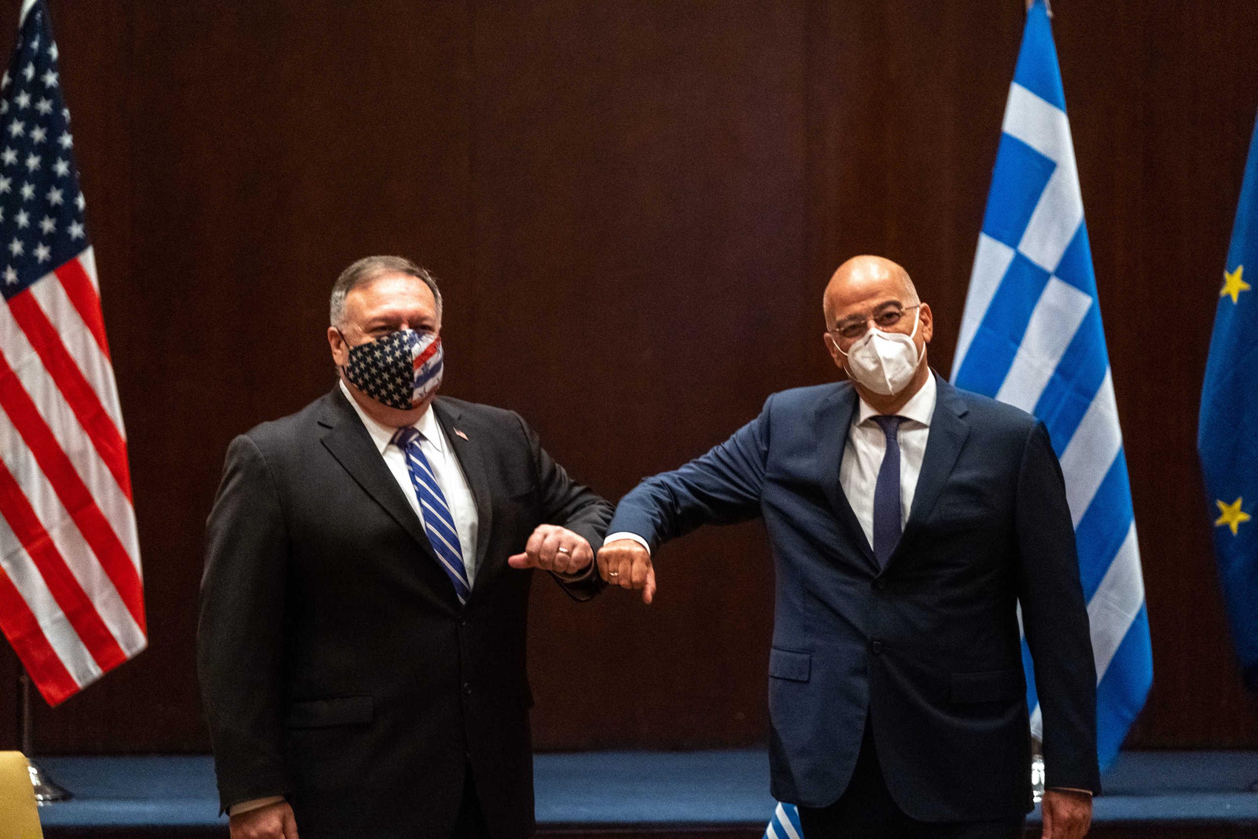 Στήριξη Πομπέο στην Ελλάδα απέναντι στην τουρκική προκλητικότητα! Επιστολή στον Νίκο Δένδια