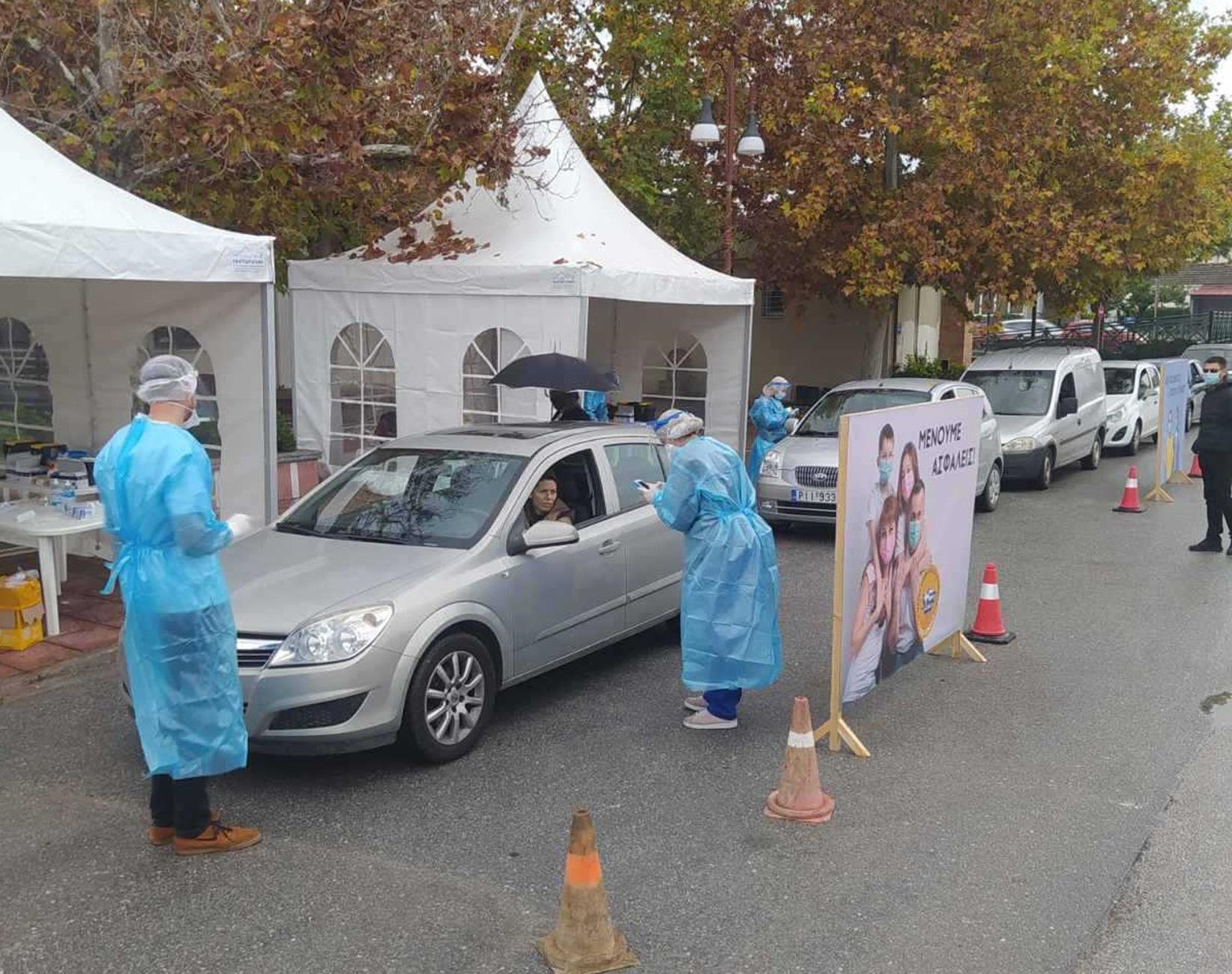 Κορονοϊός: 46 κρούσματα από 1041 rapid test σε 6 περιοχές