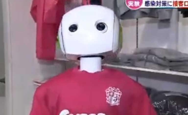 Κορονοϊός: Ρομπότ στην Ιαπωνία κάνει έλεγχο για μάσκα και αποστάσεις σε κατάστημα