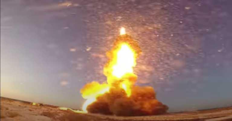 """""""Σείστηκε"""" η γη από την εκτόξευση νέου τρομακτικού αντιβαλλιστικού πυραύλου της Ρωσίας! [vid]"""