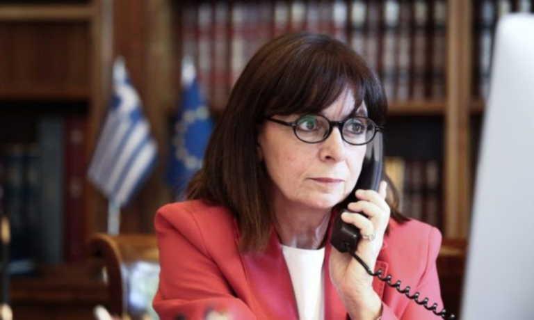 Σακελλαροπούλου: Εξέφρασε τηλεφωνικά τη συμπαράστασή της στους εργαζόμενους του Νοσοκομείου Δράμας