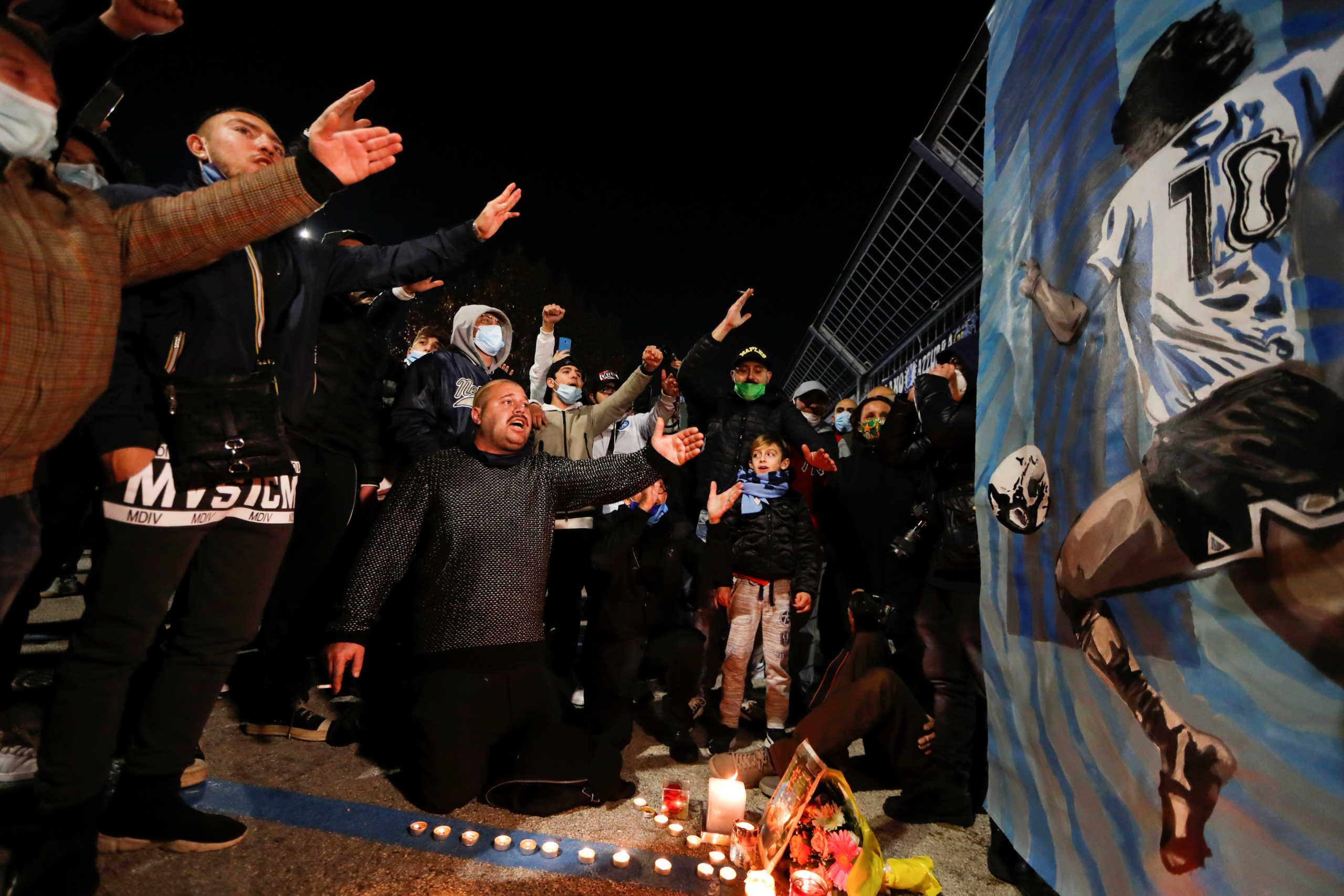 Ντιέγκο Μαραντόνα: Η Νάπολι θα δώσει το όνομά του στο θρυλικό Σαν Πάολο (pic)