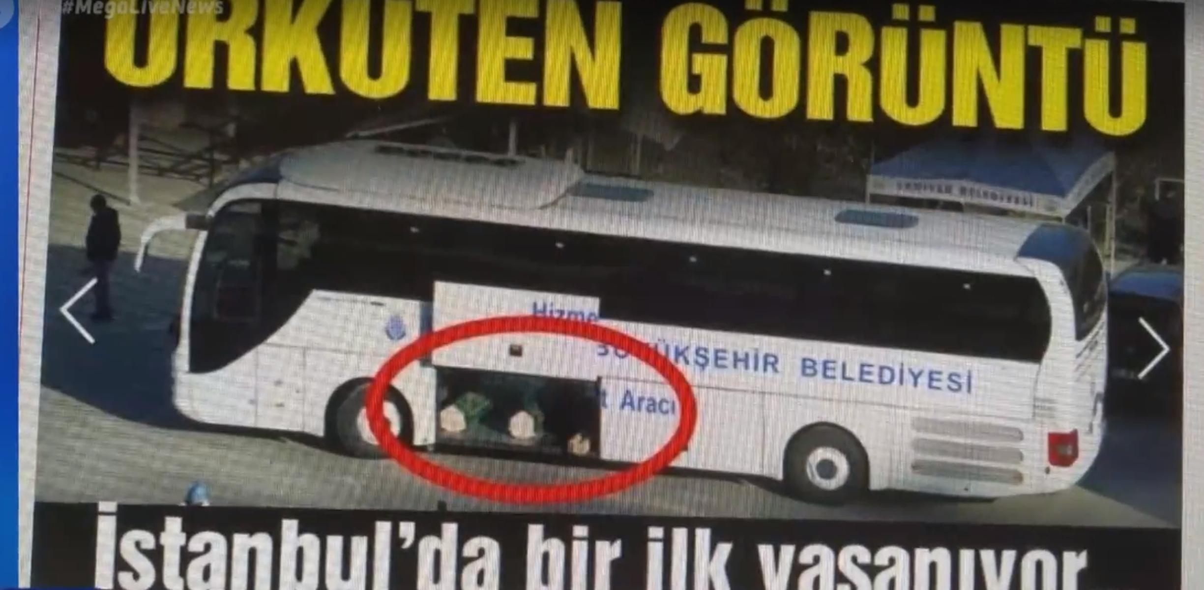 Τουρκία: Εικόνες σοκ με σορούς νεκρών από κορονοϊό να στοιβάζονται σε λεωφορεία
